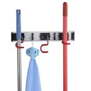 Cavoli Wall Bath Closet Mounted Dust Mop Holders Broom Hanger