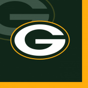 Creative Converting 16 Count Green Bay Packers Beverage Napkins