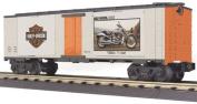 MTH Train O Scale Harley Davidson Motorcycle Box Car 2003 V Rod 30-74199 NIB