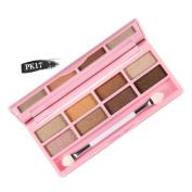 Easy Lifestyles New 8 Colours Crystal Glitter Eyeshadow Case Makeup Palette
