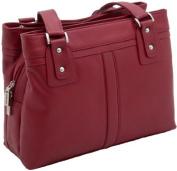 Visconti Clara(M) Leather Shoulder Bag 19476