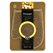 Donegal - BEAUTY SOY Eco Natural Shower Bath Accessories Toning Soybean Massage Glove