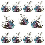 Attractive Water Transfer DIY Vines Flower Nail Art Decals Tips Stickers Manicure Sheet