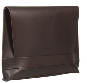 Uberbag Signature Men's Brown Vetable Tanned Leather Clutch