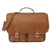 Piel Leather Executive Two Pocket Portfolio