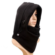 Sealike Winter 6 in 1 Warm Fleece Balaclava Hood Cycling Cap with Stylus