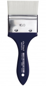 da Vinci Oil & Acrylic Series 5025 Impasto Paint Brush, Mottler Extra Stiff White Synthetic, Size 60