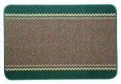 William Armes Kilkis Washable Kitchen Rug Emerald 150x100cm
