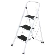 FOLDABLE 2, 3 & 4 STEP LADDER NON SLIP TREAD STEPLADDER SAFETY ALUMINIUM KITCHEN