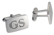 Handmade 925 Sterling Silver Cufflinks with Engraving