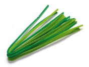 KnorrPrandell 8471043 Pipe Cleaners, 50 cm x 6 mm Diameter, May Green Mix