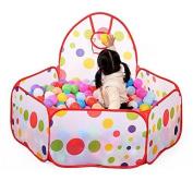 Vktech® New Children Kid Ocean Ball Pit Pool Game Play Tent Ball Hoop In/Outdoor