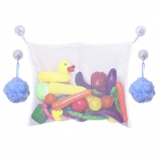 Mudder Baby Bath Toy Bag Organiser with 2 Extra Suction Cups