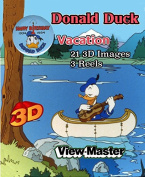 ViewMaster TV Series - Donald Duck Takes a Vacation 3 Reel - 21 3D Images