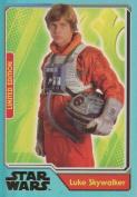 Journey to Star Wars The Force Awakens Luke Skywalker Limited Edition card