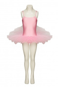 BN Pale Pink Ballet Full Leotard Tutu Fancy Dress All Sizes Childrens and Ladies By Katz Dancewear