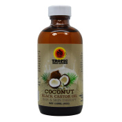 Tropic Isle Living Jamaican Coconut Black Castor Oil 120ml