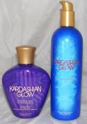 Lot of 2 Kardashian Glow Double Dip Intensifier + Kardashian Tan Extender Lot of 2