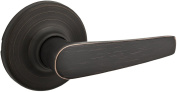 Kwikset 488DL Maximum Series Delta Single Dummy Lever Door Knob, Venetian Bronze