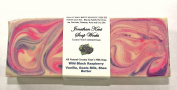 Jonathan Kent Goats Milk SOAP LOAF - WILD BLACK RASPBERRY & VANILLA Creamy 100% Farm Fresh Goats Milk & Shea Butter, NO WATER Large 1.4-1.6kg Loaf. Creamy Butterfat, Moisturise & Clean your Skin