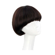 Women's Short Full Bang Wig Mushroom Hairstyle Cosplay/daily Hair Wig