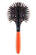 Twirler Ball Brush, Neon Orange Large