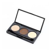 Eyebrow Trio 3 Colour Brow Palette by Pree Cosmetics