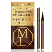 Flow-fushi Mote Liner Waterproof Liquid Eye Liner TAKUMI Brown Black