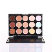 New 15 Colours Cosmetics Eclipse Concealer Camouflage Makeup Palette