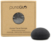 Konjac Sponge (Charcoal) - 100% Natural & Chemical Free - Deep Cleansing & Exfoliating Facial Sponges