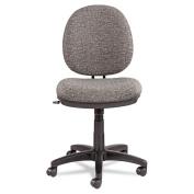 Alera Interval Swivel/Tilt Task Chair with Tone-On-Tone Pattern, Grey