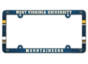NCAA Licence Plate with Full Colour Frame