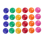 vanki Round Presentation Whiteboard Magnetic Button 24 Pcs