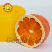 СItrus Soap Mould Food-grade Silicone Moulds Mould Mould for Soap Christmas Mould Mould New Year Mould.