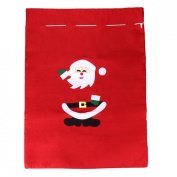 Binmer(TM)Christmas Gift Bag Santa Claus Fabric Gift Sacks Xmas Party Gift Bag Presents Toy Bag