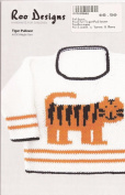 Roo Designs Child's Tiger Pullover Knitting Pattern