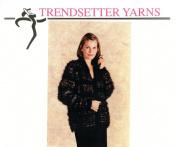 Trendsetter Yarns Knitting Pattern #2331 Savvy Striped Jacket