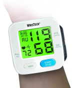 Colour Changing Digital Blood Pressure Monitor With Hypertension Colour Alert Technology