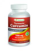 Turmeric Curcumin 1000 mg Bioperine 5 mg 120 Capsule by Best Naturals