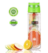 Delicol Infuser Water Bottle 800ml Gym Exercise Bottle(style 4)