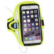 Armband for iPhone 6 Plus and iPhone 6S Plus (14cm display) - Reflective Yellow