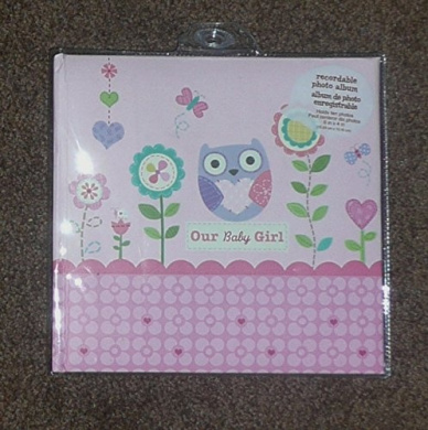 """Stepping Stones Recordable Photo Album """"Our Baby Girl"""""""