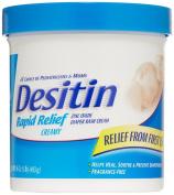 Desitin Rapid Relief Creamy Jar, 470ml, Relieves Nappy Rash Discomfort, New