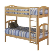 Orbelle Trading Bunk Beds With Slat Support System - Natural
