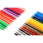 chendongdong 36 Colours Wax Crayon Non-toxic Eraseable Plastic for children School Office Art Supplies High Quality