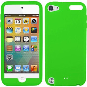 Green Silicon Soft Rubber Skin Case Cover For Apple iPod Touch iTouch 5