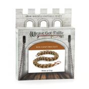 Weave Got Maille Box Weave Chain Maille Bracelet Kit, Helen of Troy