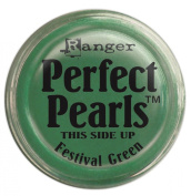 Ranger Perfect Pearls Pigment Powder, 30ml, Festive Green