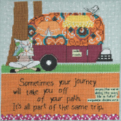 Off Your Path Beaded Counted Cross Stitch Kit Mill Hill 2014 Curly Girl CG304103