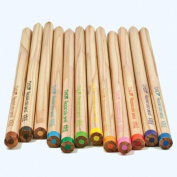 Tombow Recycled Coloured Pencils, Assorted Colours, 12-Pack